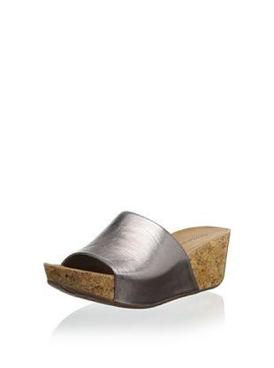 42% OFF Chocolat Blu Women's Mattie Platform Sandal (Gunmetal)