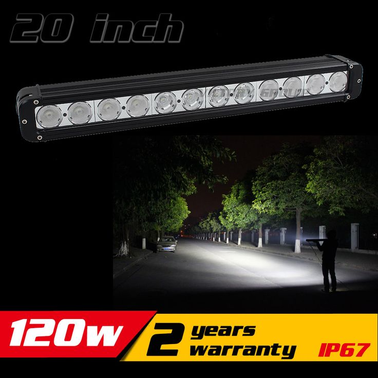 20 inch 120W LED Light Bar for Truck Tractor ATV LED Bar Offroad 4x4 LED Offroad Light Bar Offroad Fog light Save on 240W