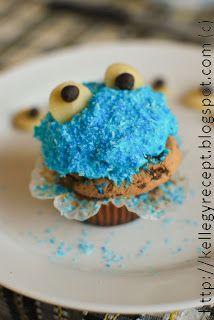 Mandy kertje és konyhája: Sütiszörny cupcake