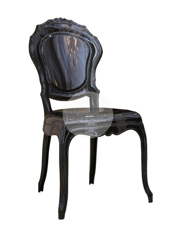 Replica Belle Ghost Chair - black