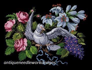 Gallery.ru / Фото #1 - nowotny bird pattern - elif84