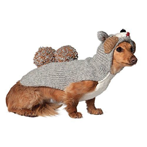 Chilly Dog Squirrel Hoodie for Dogs, 3X-Large