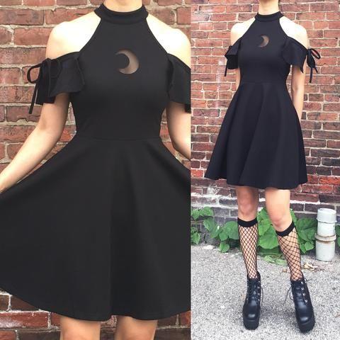 3bafea4f57 2018 moon child- goth dress in 2019 | ezmy | Goth dress, Dresses ...