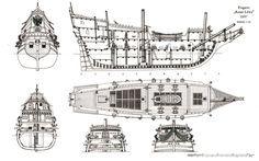 pirate ship diagram - Google Search