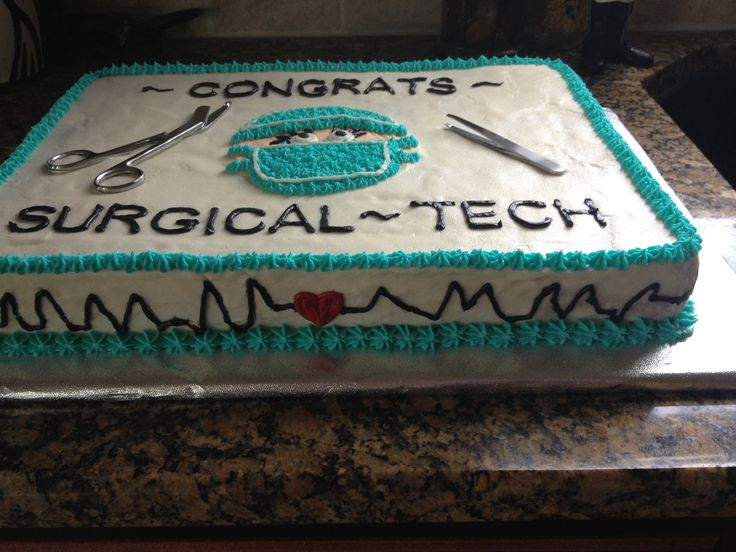 Surgical Tech Cake