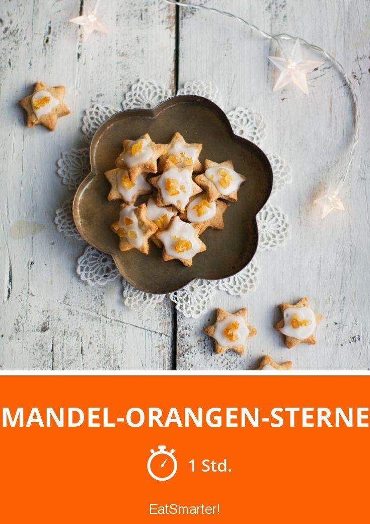 Mandel-Orangen-Sterne - smarter - Zeit: 1 Std. | eatsmarter.de