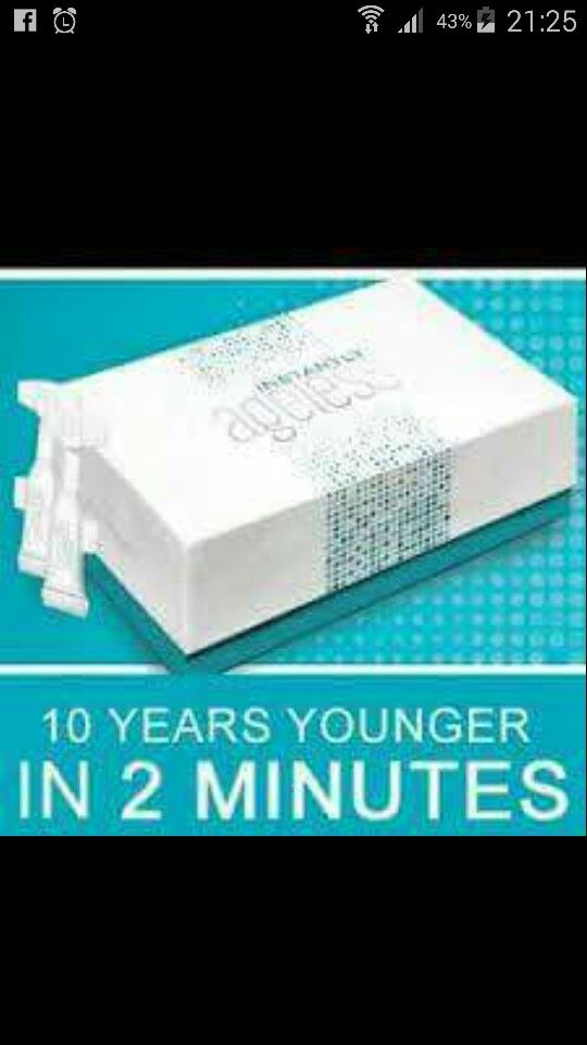 Want to be Instantly Ageless 10 years younger in 2 minutes  message for more details
