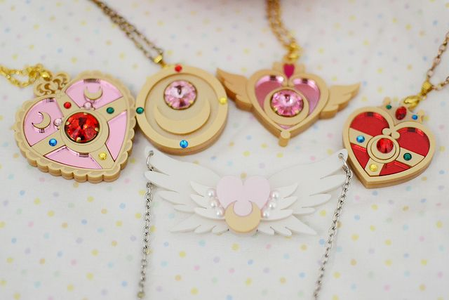 sailor moon necklaces