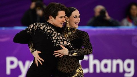 Tessa Virtue and Scott Moir put on a skate for the record books