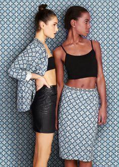 Modefotografie, Druck auf Druck, zwei Modelle, Aimee Kelly Photography Blog, www.aimeekellypho …