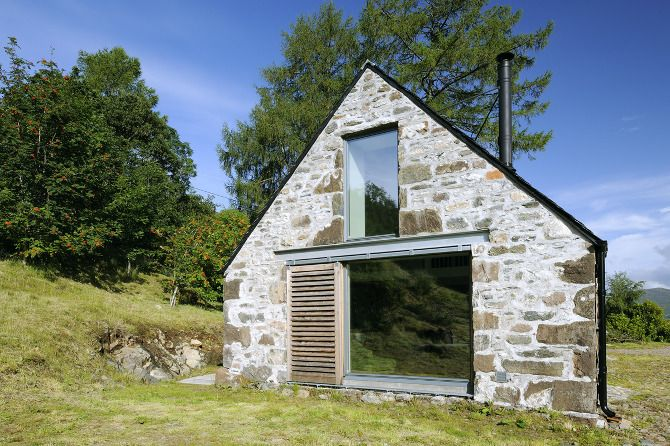Good use of glass on this build  Leachachan Barn - Rural Design Architects - Isle of Skye and the Highlands and Islands