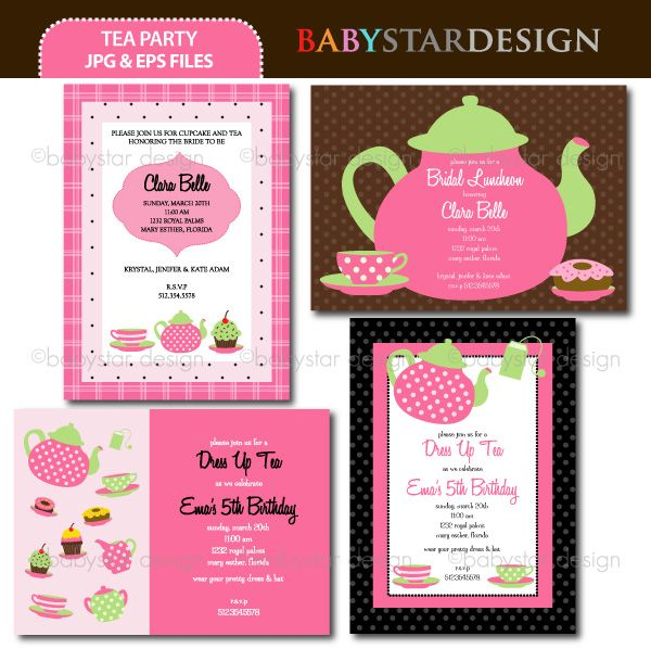 32 best Tea Party Birthday Ideas images on Pinterest Anniversary - birthday itinerary template