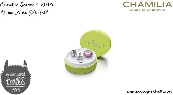 Chamilia Love Note Gift Set (limited edition)