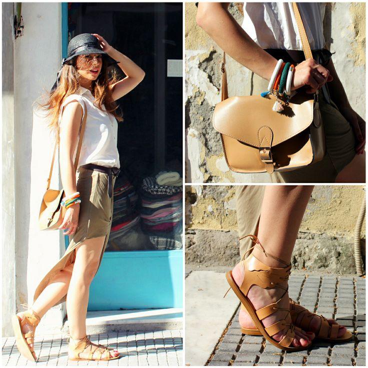 Η Krystyna, Blogger από το Le De Sociale, με σανδάλια #SanteShoes από τη νέα Collection Summer 2014 #SanteLook #SanteBloggersSpot