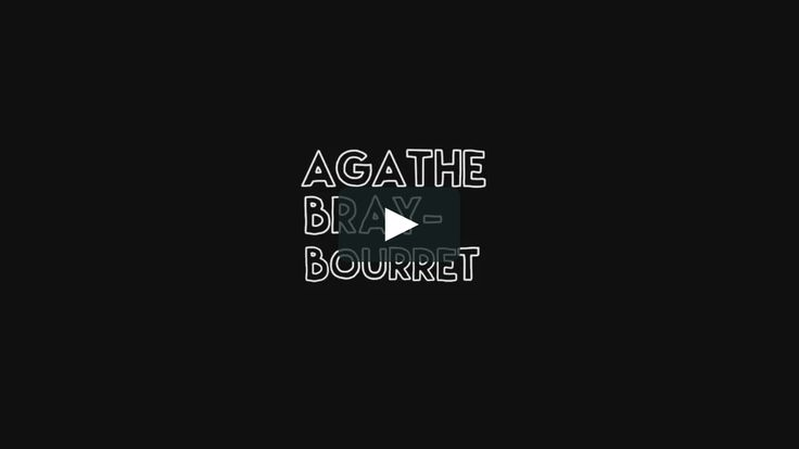 """This is """"agathebb-demo reel"""" by Agathe Bray-B on Vimeo, the home for high quality videos and the people who love them."""