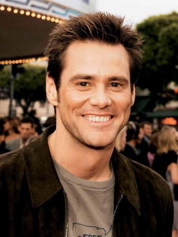 Jim Carrey, one of my favorite actors and in my opinion one of the greatest and funniest people ever. I also like his more serious roles like in The Number 23 and Eternal Sunshine of the Spotless Mind.