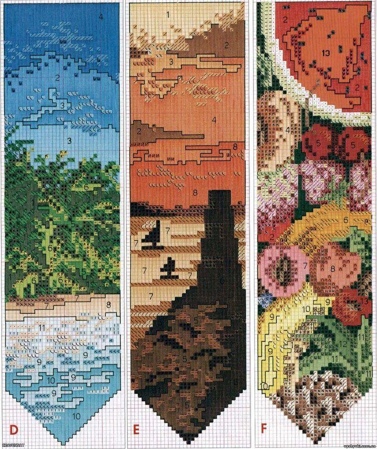 Схемы вышивки красочных закладок для книг Поделиться ссылкой:Нажмите, чтобы поделиться записями на Pinterest (Открывается в новом окне)…