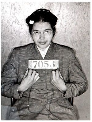 Powerful women: Rosa Parks Each person must live their life as a model for others. Rosa Parks