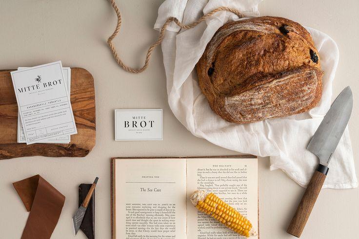 MITTE BROT Artisan Bread on Behance Bread brands