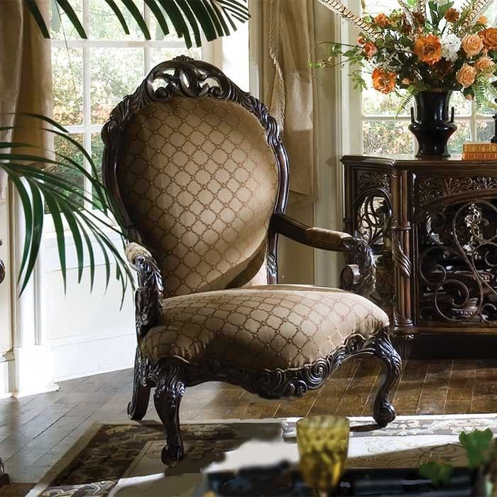 Cornwall Manor Medallion Back Chair, Designer Collection ~ Magnoliahall.com