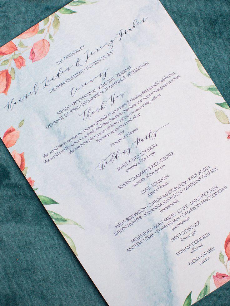 deer hunter wedding invitations%0A Hannah   Jeremy Wedding Menu
