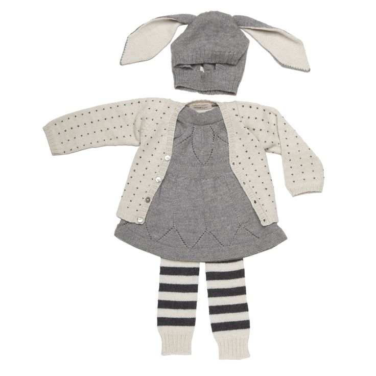 Winter in Knits...Little Girls, For Kids, Kids Fashion, Bunnies Hats, Baby Girls, Cute Outfit, Kids Clothing