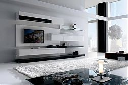Boss 79 Contemporary Wall Unit by Milmueble