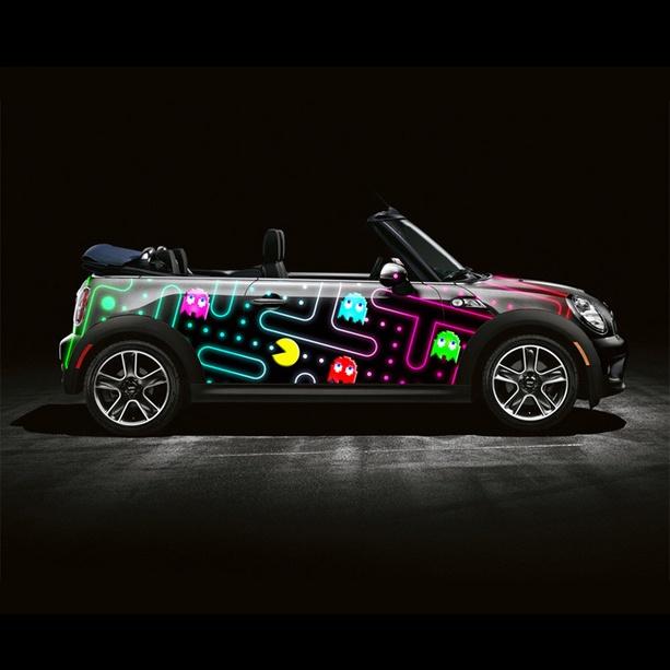 Super Cool BMW Mini Pac-Man.