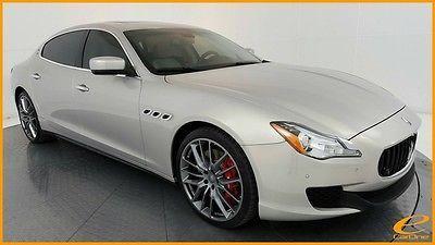 2014 Maserati Quattroporte | GTS | 21IN SPORT | PIETRA LUNA | NAV | CAM | ALC 2014 Maserati Quattroporte for sale!
