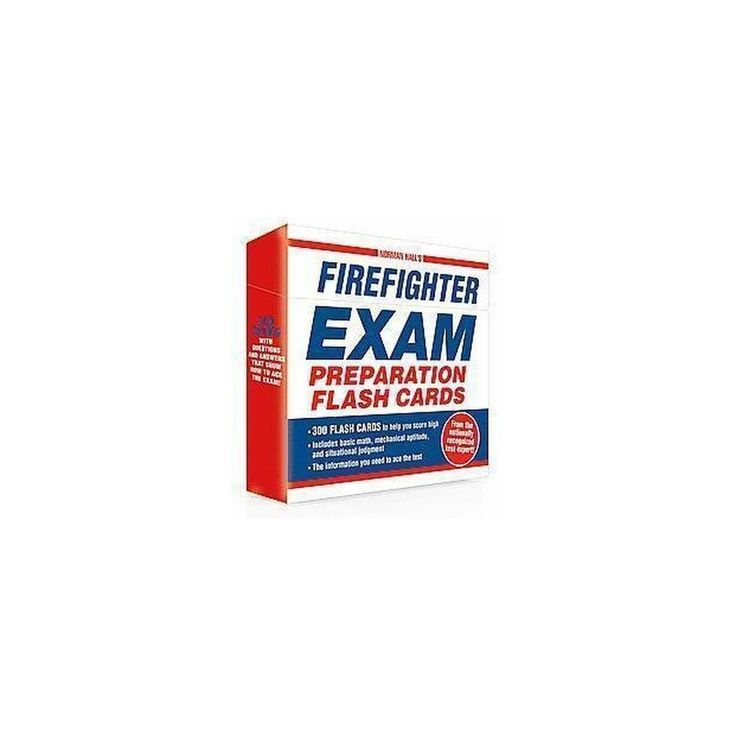 Norman Hall's Firefighter Exam Preparation Flash Cards (Paperback)