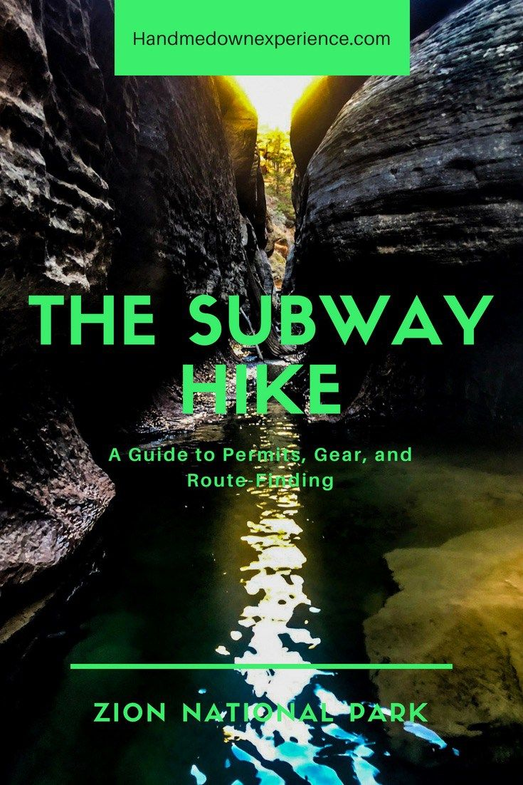 The Subway – Zion National Park