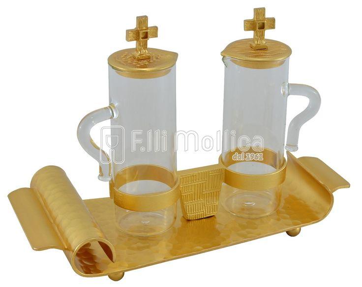 Ampolla per messa a Pergamena