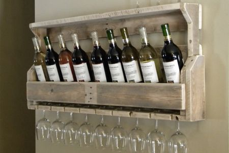 There are some weird and tacky wine racks out there that I would be embarassed to have on display. And while you might be using reclaimed ti...