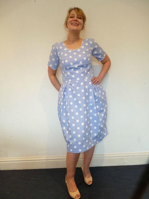 The Amazing Taracat's Elisalex Dress - By Hand London