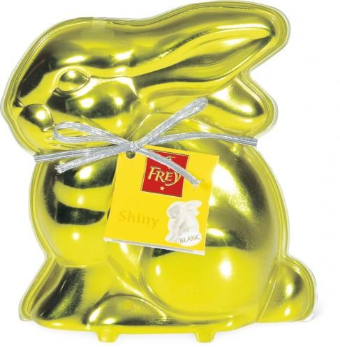 Chocolat Frey Osterhase Shiny #Ostern #Schokolade #easter #chocolate #packaging #bunny