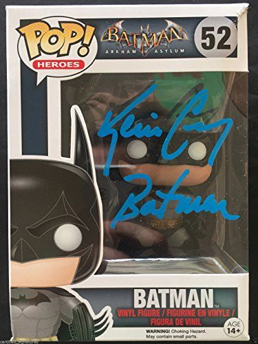 "KEVIN CONROY ""BATMAN"" SIGNED FUNKO POP VINYL FIGURINE ARKHAM ASYLUM PROOF COA J9 for USD209.99 #FIGURINE Like the KEVIN CONROY ""BATMAN"" SIGNED FUNKO POP VINYL FIGURINE ARKHAM ASYLUM PROOF COA J9? Get it at USD209.99!"