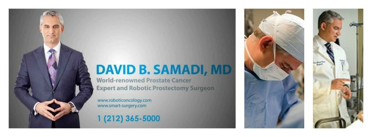 Dr. David Samadi Robotic oncology