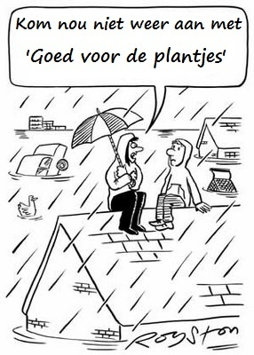 "Loosely translated: ""Stop telling me it's 'good for the plants.'"" Appropriate given out weather recently..."