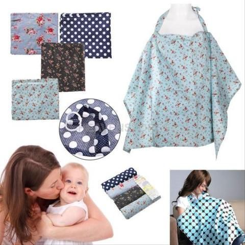 BD Women Udder Covers Breastfeeding Baby Nursing Blanket Shawl Poncho Cover