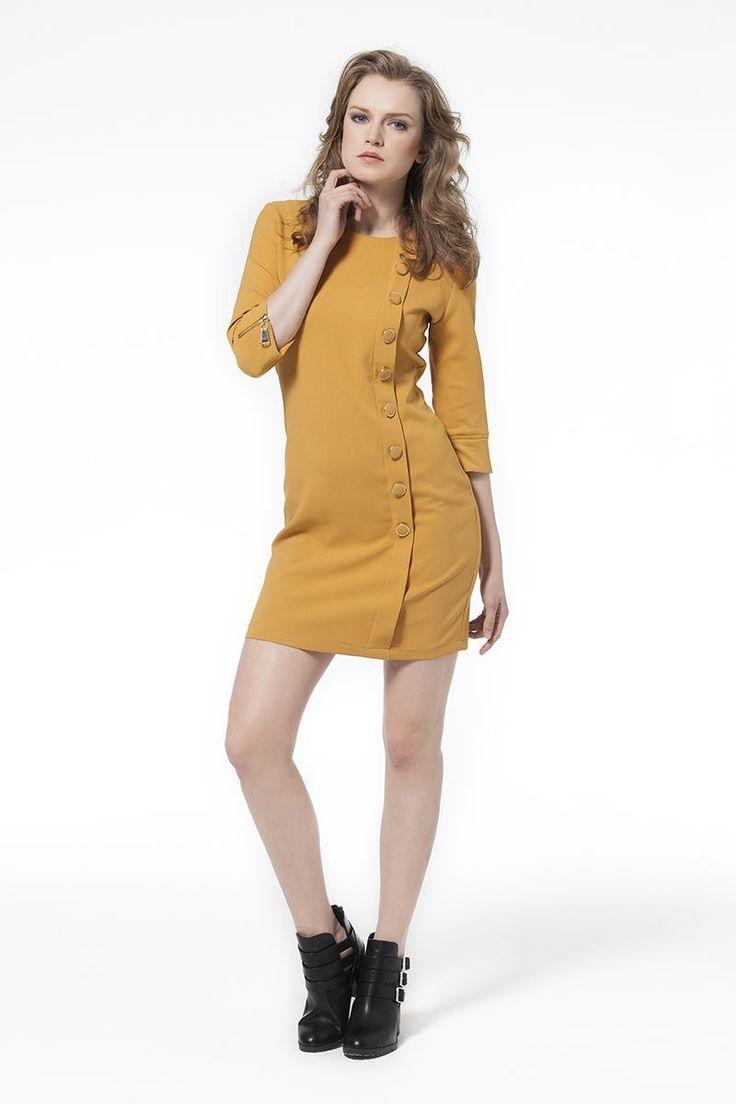 Elbise Hardal Dantel Desenli Elbise Siyah Elbise En Trend Elbiseler 69,90 TL