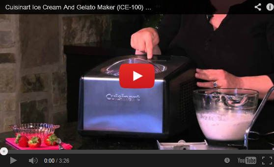 A detailed review of the Cuisinart Ice 100 Compressor Ice Cream Gelato Maker including the best place to buy.