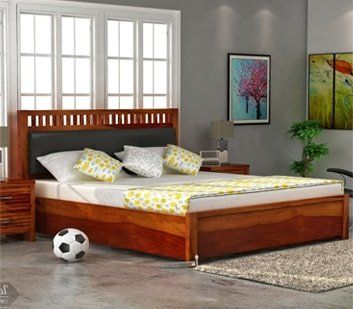 Buy Solid Wood Bedroom Furniture Online At The Most Affordable Prices From Wooden Street