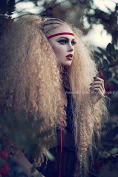 avant guarde big hair flow - Google Search