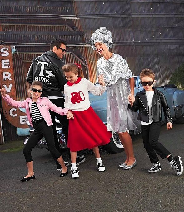 1950's and Grease Halloween Costumes                              …