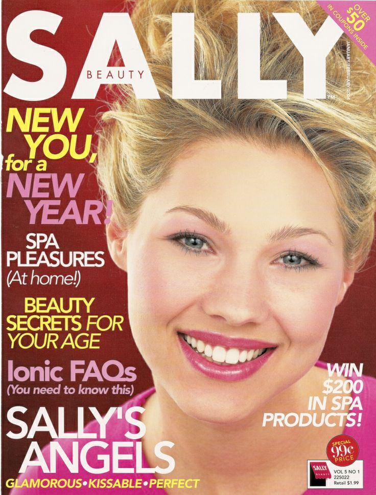 Make-up Tips in Sally Magazine