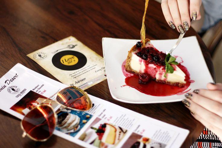 #Cheesecake, #sunglasses #sunnydays. Please visit our Facebook Page: https://www.facebook.com/Coco.Bongo.trattoria