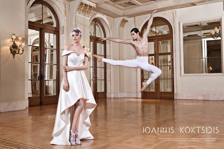 Classy asymetrical fine satin Wedding Dress by Ioannis Koktsidis #ioanniskoktsidis #operafhouse