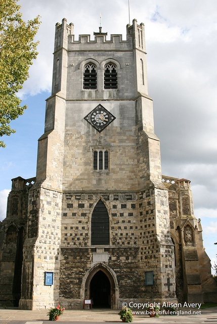 West Tower, Waltham Abbey Church, Waltham Abbey, #Essex - read some more background on our definitive architectural guide to Essex http://yalebooks.co.uk/display.asp?K=9780300116144&sort=sort_title&sf1=series_exact&st1=PEVSNERARCHITECTURALGUIDESBUILDINGSOFENGLAND&m=11&dc=51