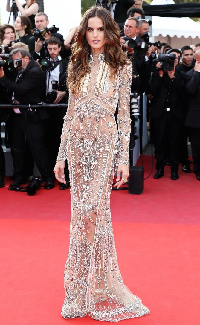 Best Dressed Stars On Cannes Red Carpet 2017 Izabel Goulart