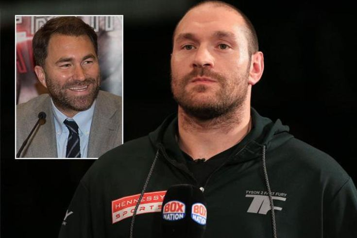 """TYSON FURY has hit again at Eddie Hearn and has threatned to disclose the """"proof"""" which claims he has provided Anthony Joshua a scrap. Hearn admitted on Friday that a fight between Joshua and Fury is """"solely a telephone name away"""".   PA:Press Affiliation   Tyson Fury has hit again at E..."""